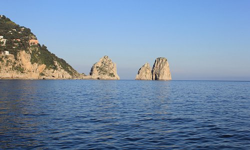 Capri - I Faraglioni visti da Marina Piccola