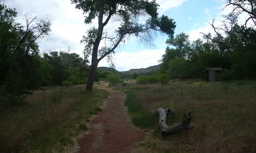 Walking path to/from rockwall