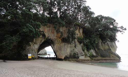 cathedral cove archway