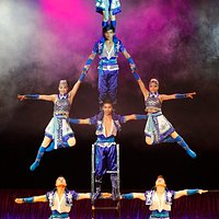 """""""Bai Xi"""" is a Chinese circus that will play throughout December. Photo: Aubrey Haynes"""
