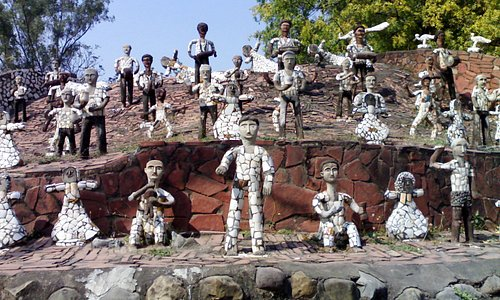 Some Sculptors at Rock Garden