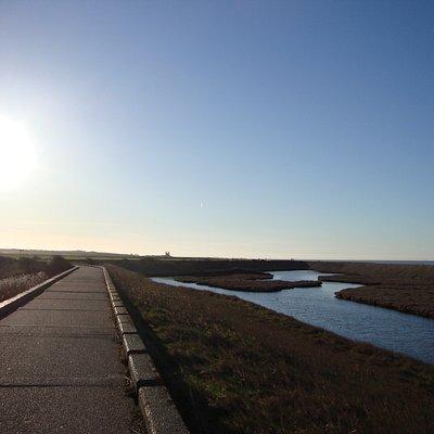 Northern Sea Wall, Viking Coastal Trail