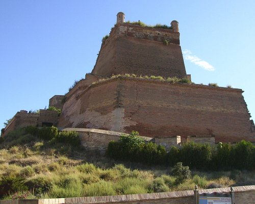 vista del castillo,monzon