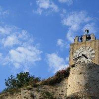 La torre del Castello vista da casa Campailla