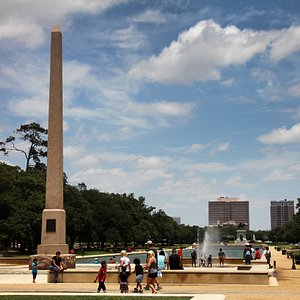 Hermann Park fountains