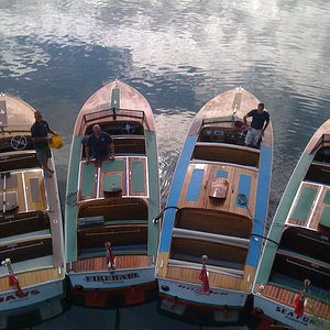 all four boats
