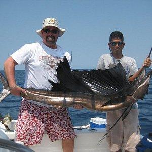 Sail Fish we caught!