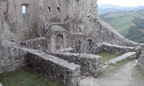Panorama dal castello di Canossa