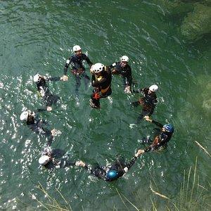 Salto dalla diga