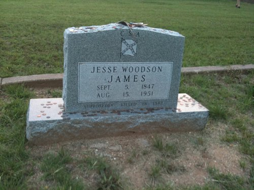 Jesse James Grave Site - Granbury Cemetery
