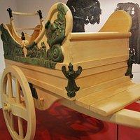 Uno dei carri etruschi di San Mariano