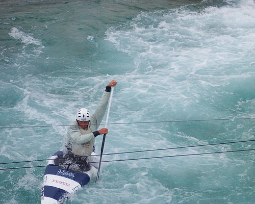 The London Olympics White Water Centre