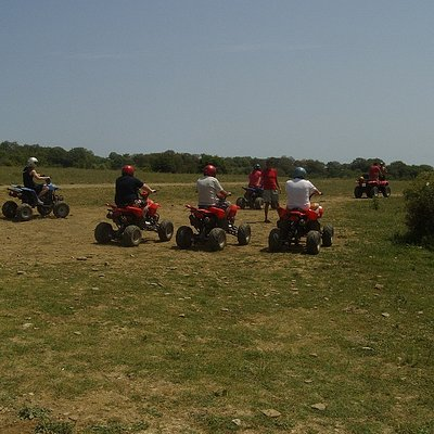Quad Biking On the Off Road Adventure