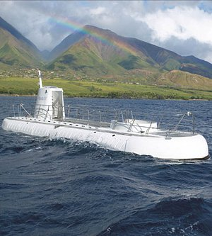 Sub on Surface • #atlantishawaii #hawaii #adventure #submarine #familyactivities