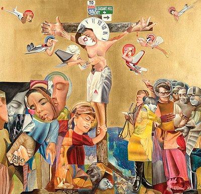 JFK on the cross of American society