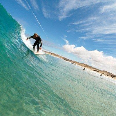 Surfteacher in action, homegrown