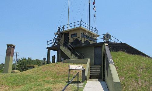 WW II observation post.