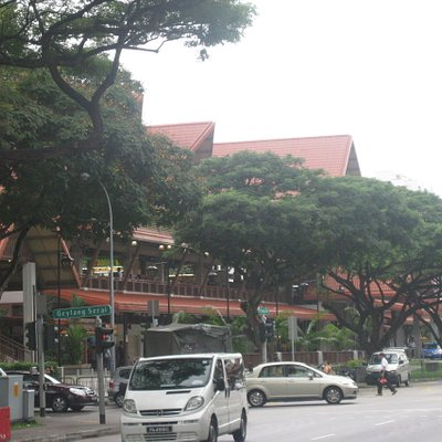 The Geylang Serai Market and Food centre