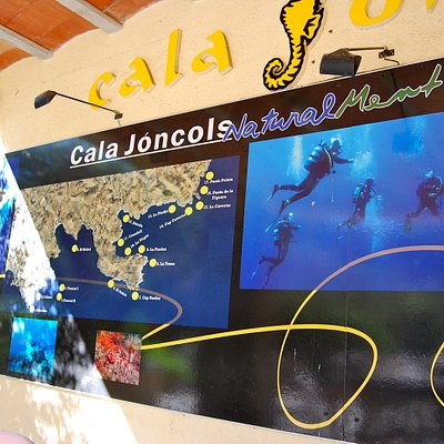 Maps of dive sites at Euro Divers