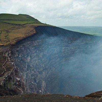 Santiago Crater at Masaya Volcano National Park