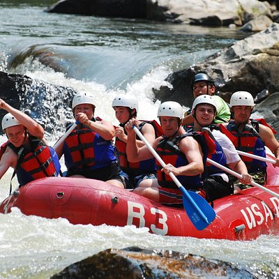 Rafting the Nolichucky River