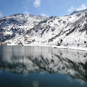 lake tsomgo...the footprint of the dalai lama...