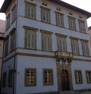 Il palazzo Blu - facciata