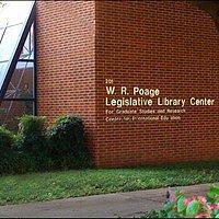 Poage Library Exterior