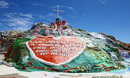Salvation Mountain - Niland, CA