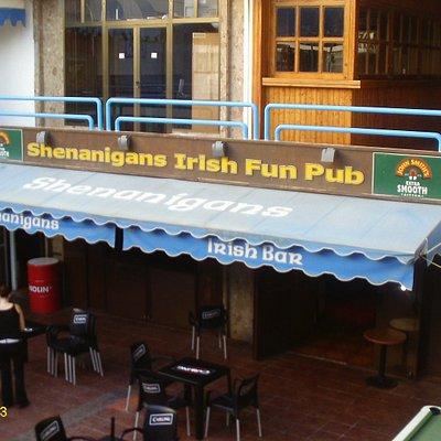This is Shenangians Fun Bar
