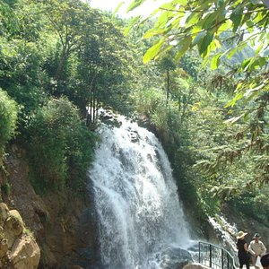 Falls on the walk to village