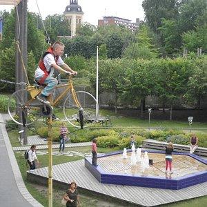 Part of the outdoor activities