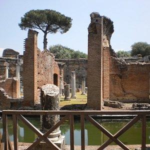 Ruiens of Baths at Villa Adriana