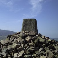"""A view of Tinto Hill from Quothquan Law - which was a popular walk from 1817 """"George the Third"""""""