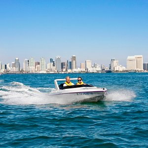 Get the best view of downtown from San Diego Bay!