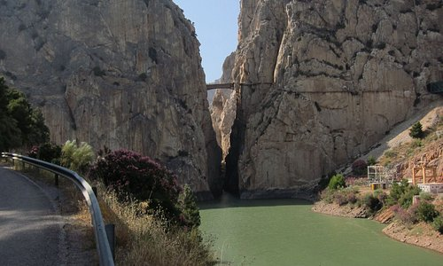 First contact with Camino del Rey