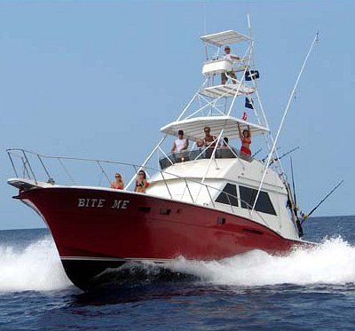 Seven fishing charter boats to choose from!