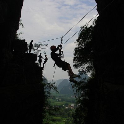Zip Line and Abseil