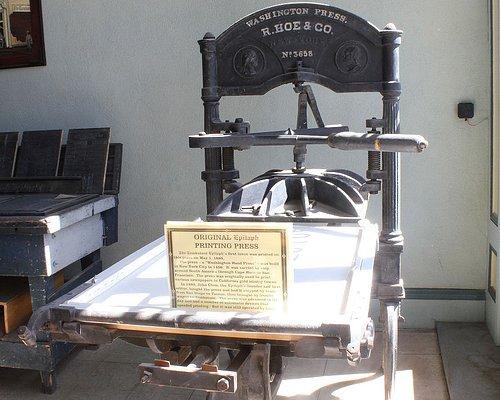 Original Printing Press