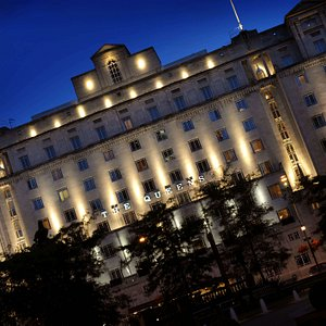 The Queens in Leeds overlooking City Square