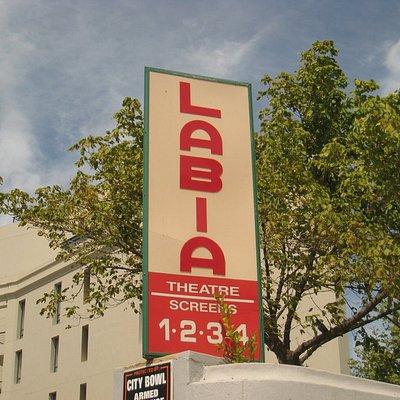 Labia Cinema sign