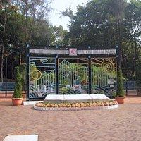 Ma On Shan city park entrance