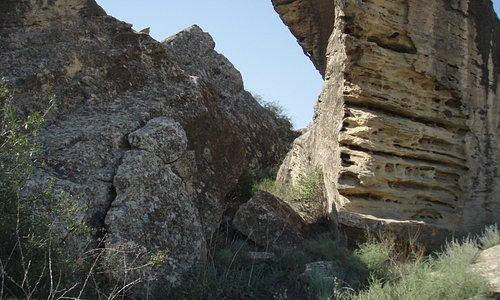 Grandi rocce a Gobustan