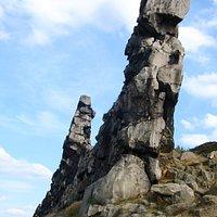Skulptur der Teufelsmauer