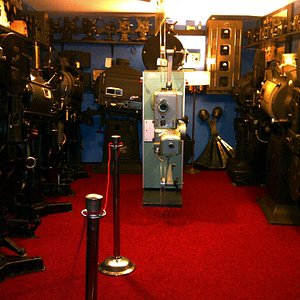 An impressive collection of historic projectors