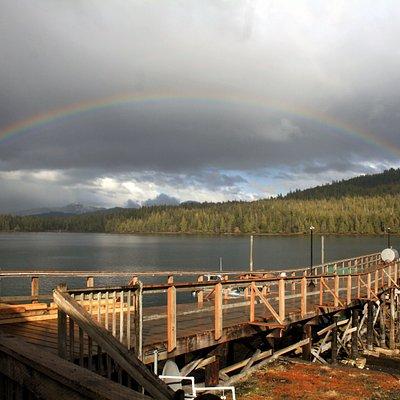 Rainbow Over Silverking Lodge