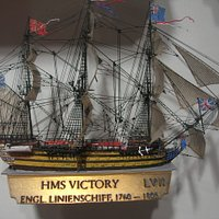 hms victory-actual size about about 50 x 50mm