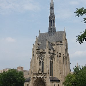 Heinz Chapel Viewed from the Cathedral of Learning