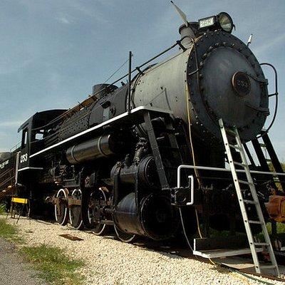 Steam locomotive #253 awaits visitors in Fort Pierce.