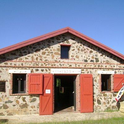"""Exterior del Museo """"El Polvorin"""" 1905"""